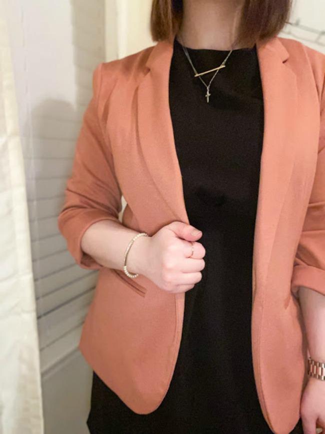 Dress & Blazer Outfit