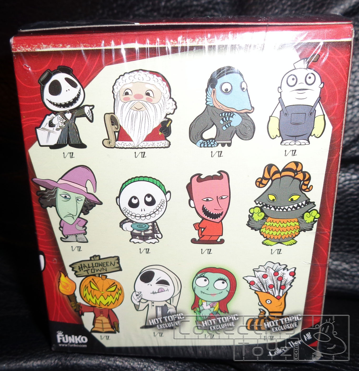 Collecting Toyz: The Nightmare Before Christmas Mystery Minis Series ...