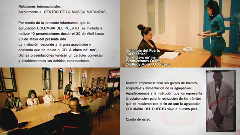 Columbia del Puerto - ¨La fanática¨ - Videoclip - Dirección: Rudy Mora - Orlando Cruzata. Portal Del Vídeo Clip Cubano - 01