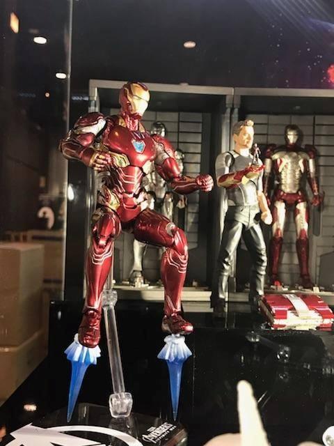 S.H.Figuarts Ironman de Avengers Infinity War