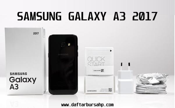Spesifikasi dan Harga Samsung Galaxy A3 (2017)
