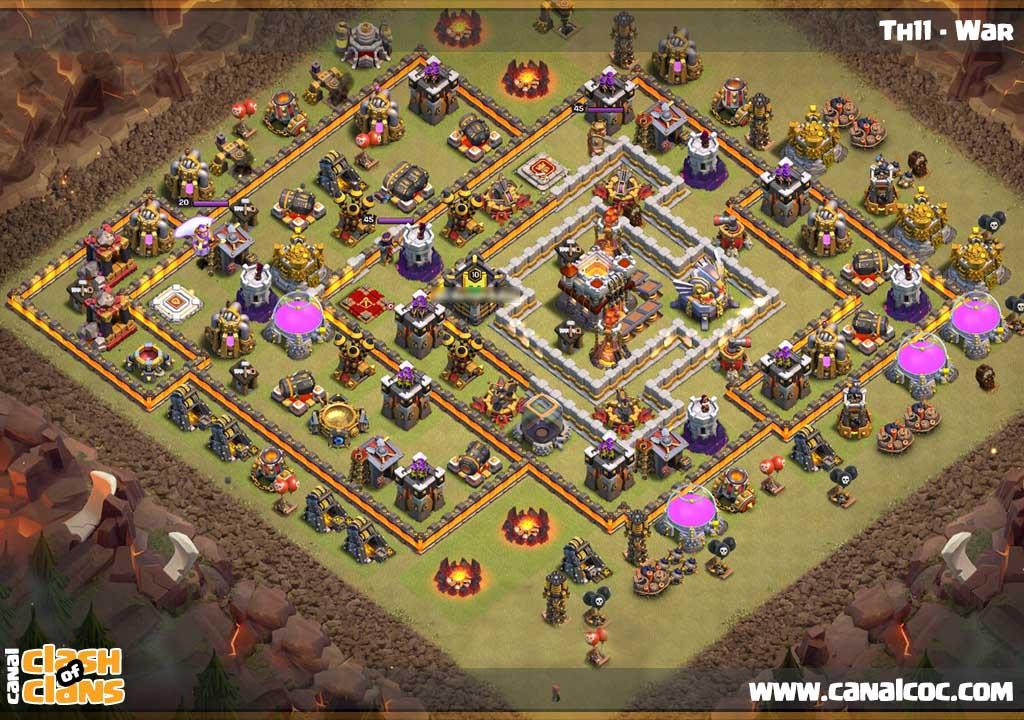 Base 2017 Coc Farming Th8