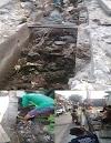 "Sudah Melaporkan Di ""CUEKIN"" Dinas Pekerjaan Umum Pemkot Depok, Akhirnya Warga Pancoranmas  Gotong Royong Bersihkan Saluran Air"