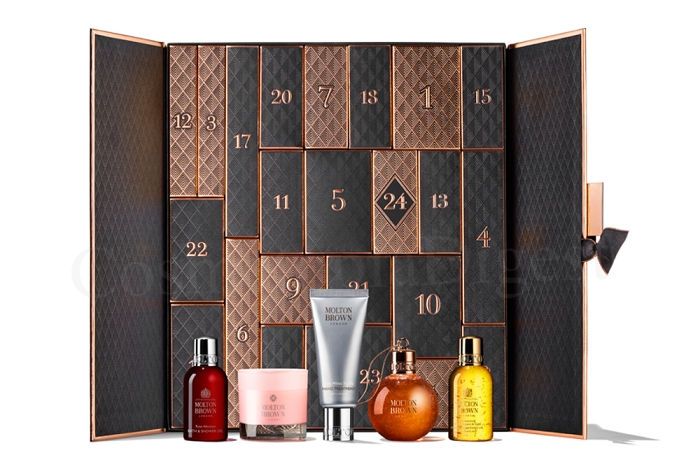 Molton Brown Advent Calendar 2019 spoilers and contents