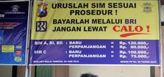 Syarat Membuat SIM C, A, B, B1, B2, D, Internasional, dan SIM Warga Negara Asing