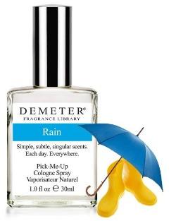Парфюм с запахом дождя