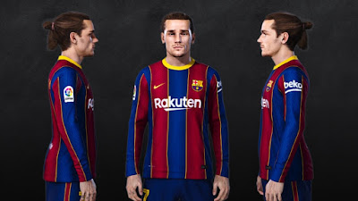 PES 2021 Faces Antoine Griezmann by SR