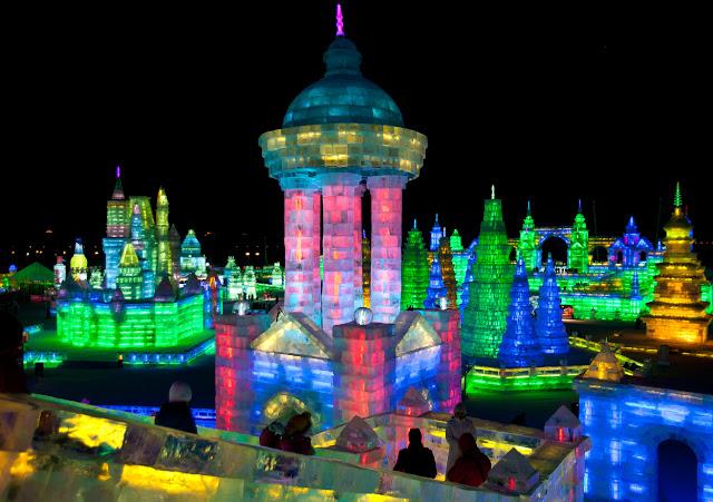 Αποτέλεσμα εικόνας για 34ο Διεθνές Φεστιβάλ Γλυπτικής Πάγου και Χιονιού στο Χαρμπίν