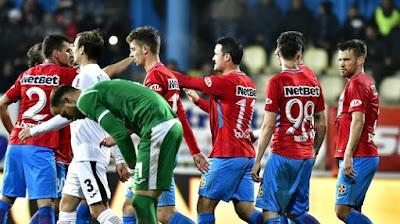 FOTO-VIDEO: Gol neregulamentar marcat de FCSB