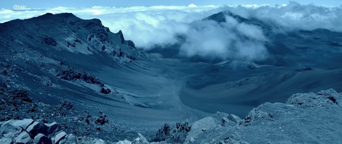MT HALEAKALA VOLCANIC CRATER, MAUI EAST, HAWAII