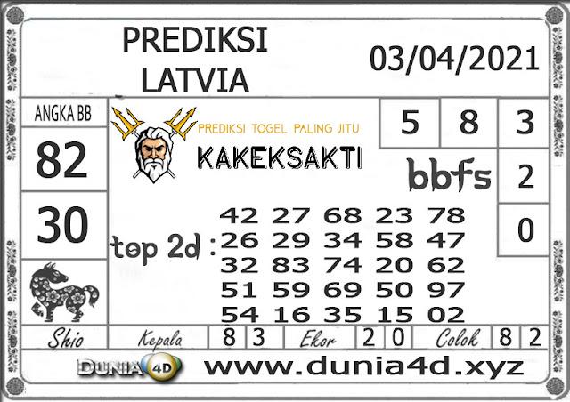 Prediksi Togel LATVIA DUNIA4D 03 APRIL  2021