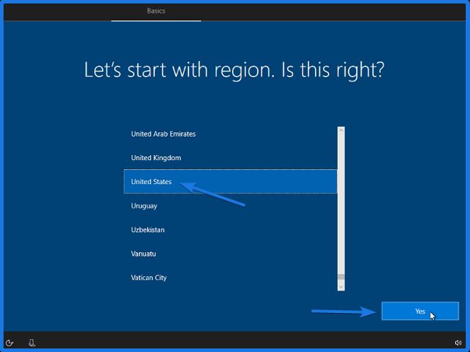 Windows 10 Preferences Settings