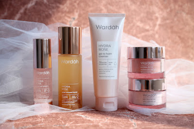 Wardah hydra rose series