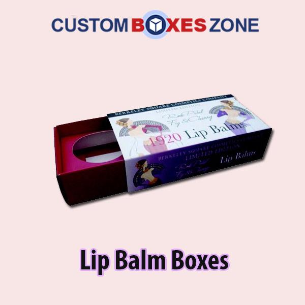 Custom Lip Balm Packaging