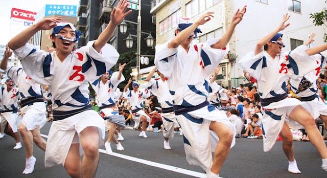 Koenji Awa Odori (Bon Dance), Suginami, Tokyo