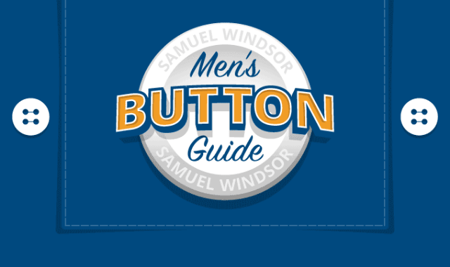 Men's Button Guide
