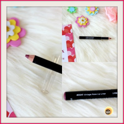 Lord & Berry Ultimate Lip Liner in Vintage Rose, birchbox february 2020 review