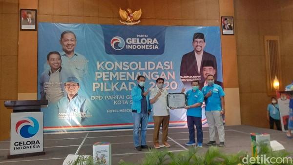 Partai Gelora Deklarasikan Dukungan untuk Machfud-Mujiaman