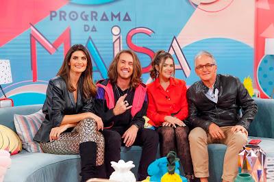 Isabella, Vitor, Maisa e Otávio (Fotos: Gabriel Cardoso/SBT)