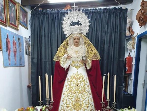 'La Virgen del Confinamiento' será expuesta en El Puerto