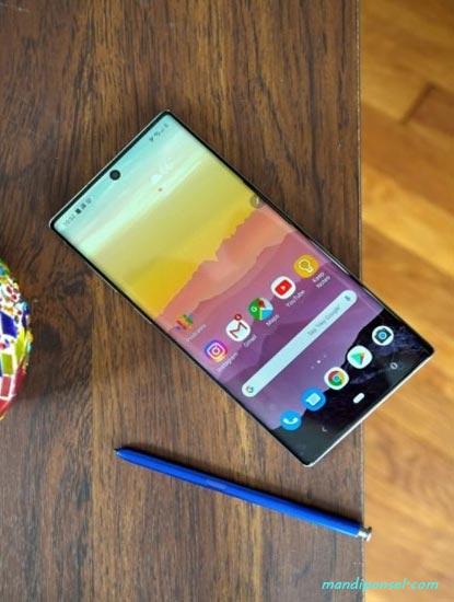 Spesifikasi dan Harga Samsung Galaxy Note 10 Lite Memori 1TB/1000GB