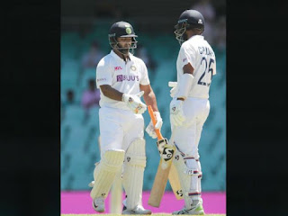 Aus vs Ind : अश्विन-विहारी की समझदारी से मैच ड्रॉ, 1-1 के बराबरी पर सीरीज | #NayaSaberaNetwork