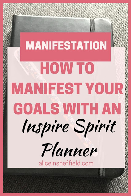 Manifestation Diary - Inspire Spirit Planner