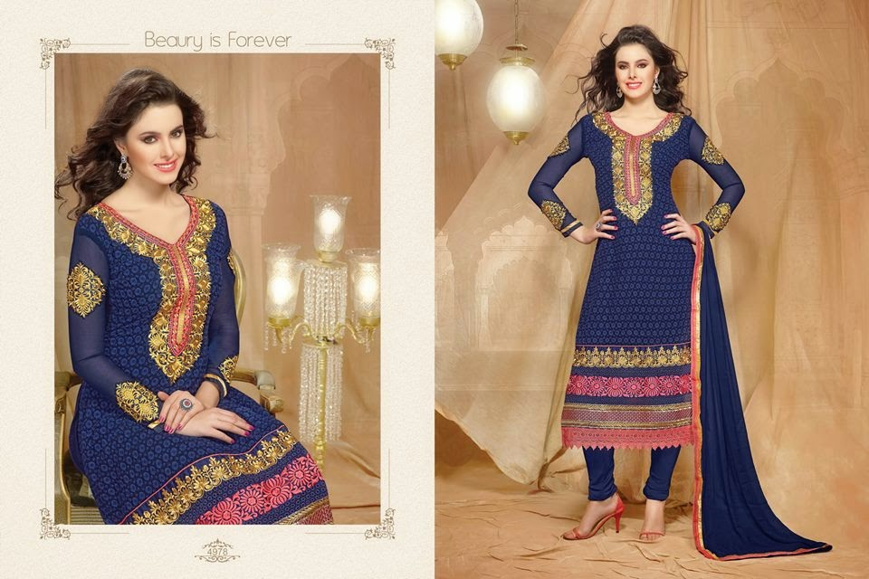 Ladies Wear Designer Dresses By Saha Couture For Winter -2274