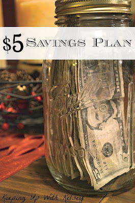 Another $5 Saving's Challenge - Creative Ways to Save Money