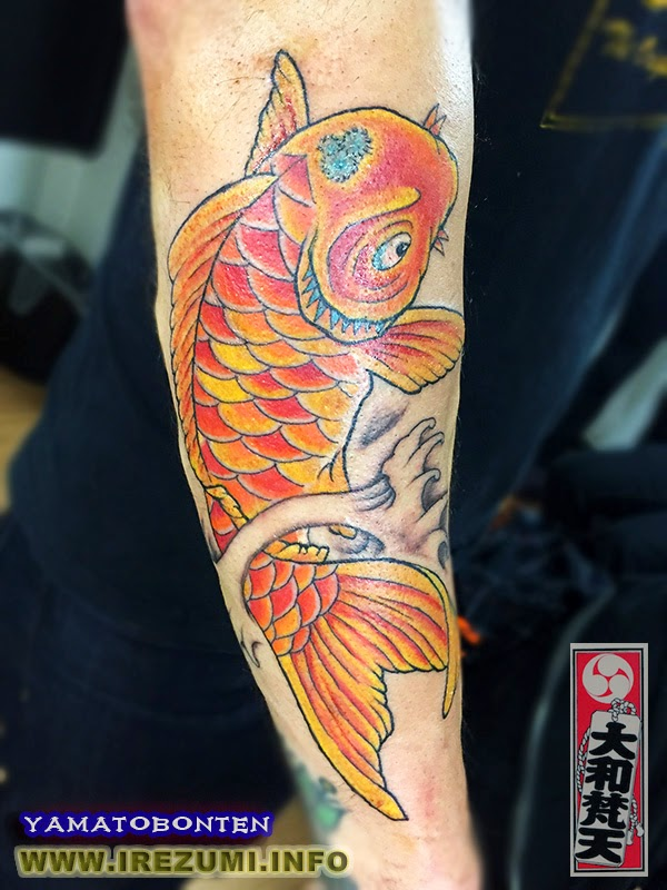 #japanesetattoo #koi-fish #tattoo #tattoos ,yamatobonten, 刺青画像, 刺青写真