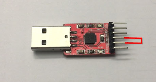 Test your USB serial converter