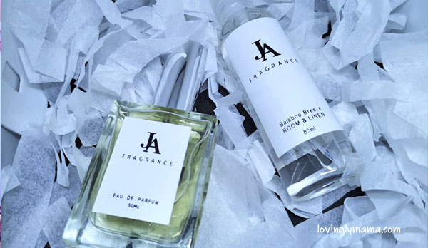 JA Fragrance - perfume bar of Bacolod - Bacolod perfume bar -Bacolod mommy blogger - gift bags - perfumes - oil-based perfumes - special scents - personalized event giveaways - Bacolod blogger - linen spray