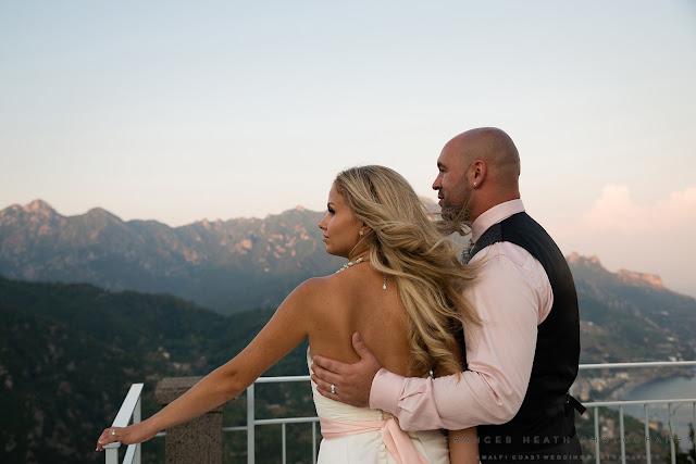 Romantic wedding Hotel Caruso