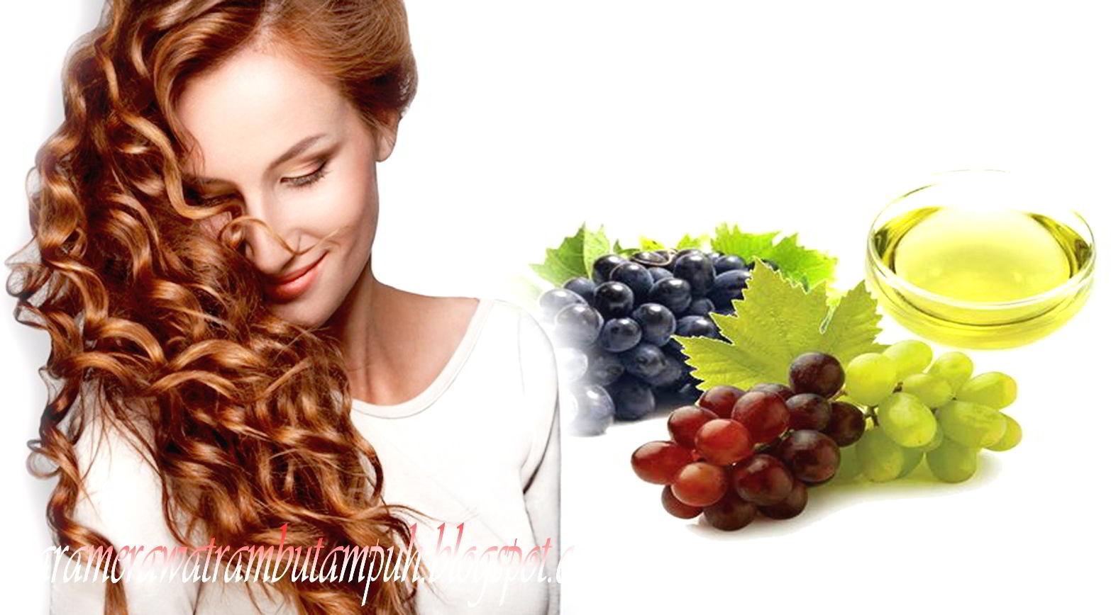 Manfaat Minyak Biji Anggur & Cara Menggunakannya Pada Rambut