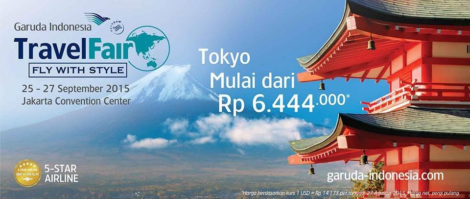 The Midnight Snack Hunting Tiket Pesawat Murah Ke Jepang Di Garuda Travel Fair September 2015