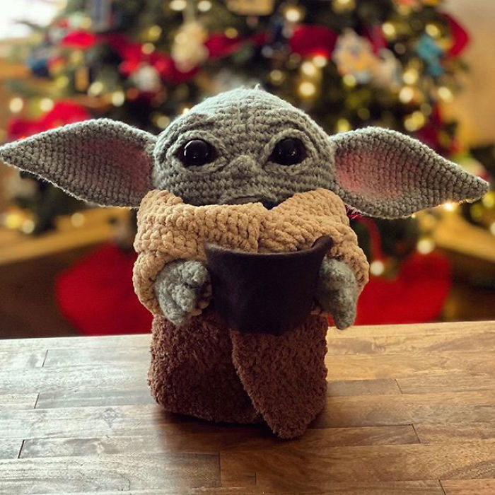 Woman Creates An Adorable Crocheting Pattern For Baby Yoda