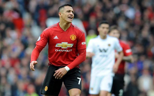 Tanpa Gol, Tanpa Permainan Gemilang, Alexis Sanchez Tampak Tak Cocok dengan Gaji Besarnya