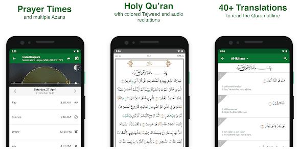 muslim pro memiliki fitur lengkap sebagai aplikasi bertemakan agama Islam