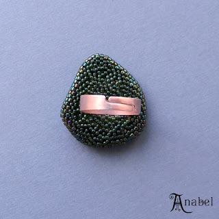 купить кольцо с камнем, бисером, оригинальные украшения эльфийские