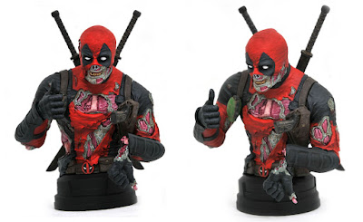 San Diego Comic-Con 2020 Exclusive Marvel Zombie Deadpool 1/6 Scale Bust by Gentle Giant x Diamond Select Toys