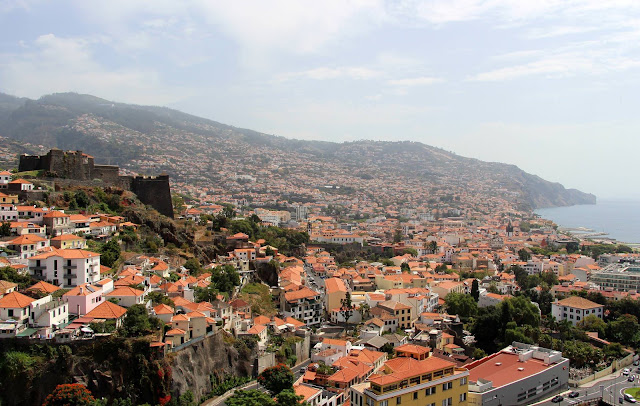 Funchal east view