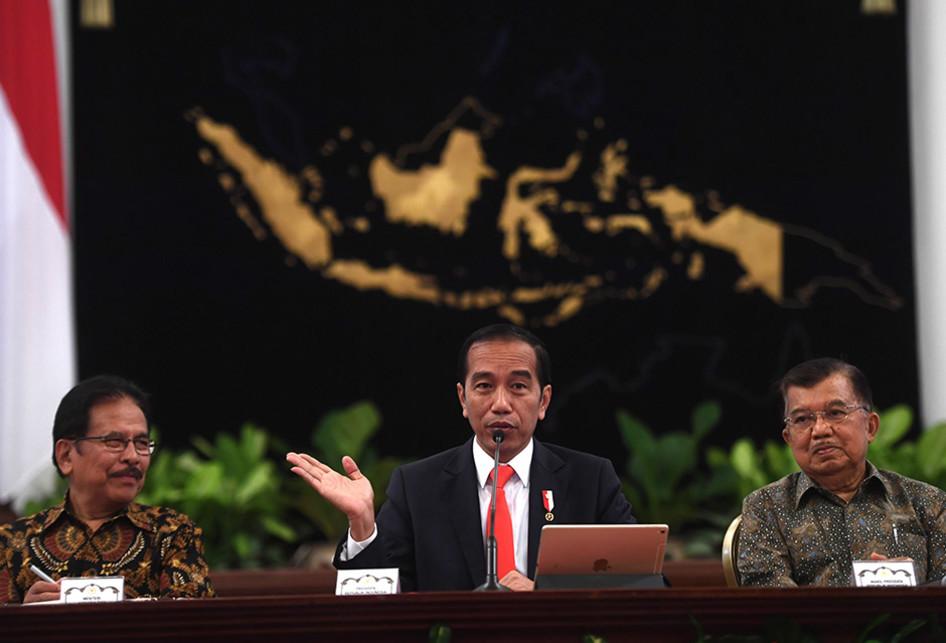 Jokowi Umumkan Kaltim Sebagai Ibukota Baru