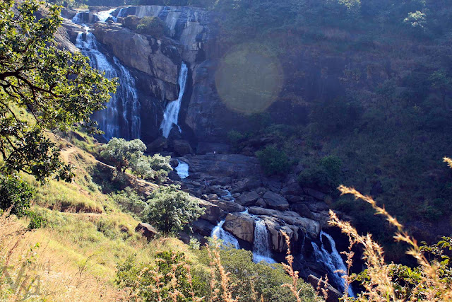Upper and lower Mallalli falls (Christmas-2011)