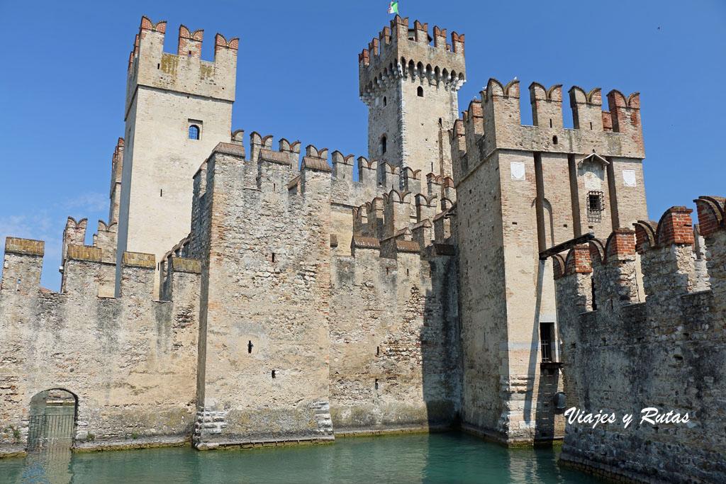 Rocca Scaligera de Sirmione, Italia