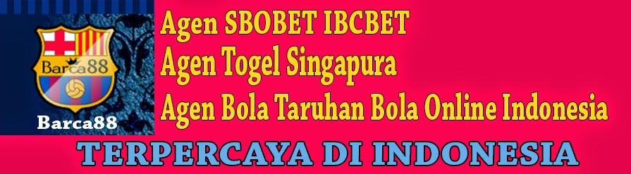 Barca168.com Agen SBOBET IBCBET 368BET Casino 338A  Bola Tangkas Togel SINGAPURA HONGKONG Online Indonesia Terpercaya
