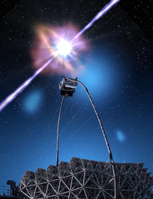 Researchers discover highest-energy light from a gamma-ray burst