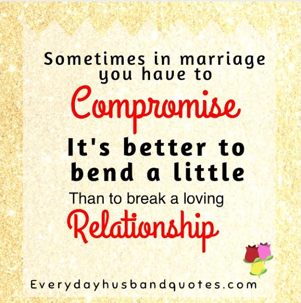 compromise relationship meaning