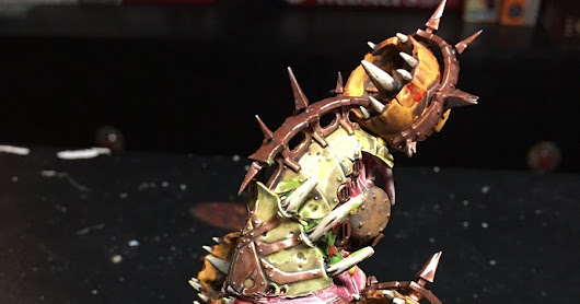Helloween: Better Late than never! Maggoth Drone Conversions!