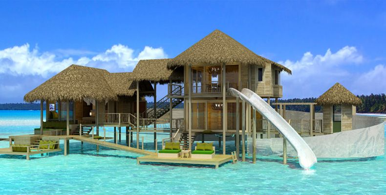 Tropical Island Beach Ambience Sound: Luxury Life Design: The Best Maldives Resorts