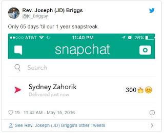 Cara Streak di Snapchat